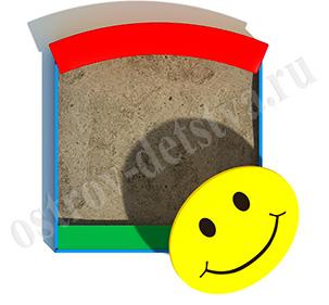 Песочница Смайл тип 1